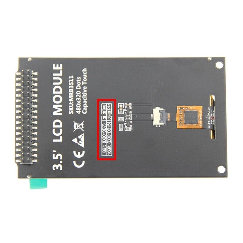 IG 3.5 дюймовый TFT ЖК экран дисплей модуль с ЖК экраном контактная панель 320X480 Драйвер IC ILI9488 для Arduino - 5