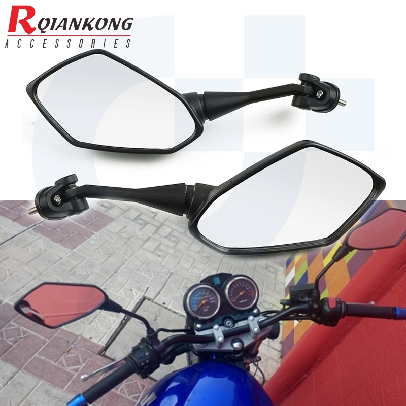 Moto Racing Motorcycle Mirrors Sport Bike Rear View Mirror For <font><b>Honda</b></font> CB919 <font><b>CBF1000</b></font> CBF 1000 A CBF600/SA CBF 600 F4 F4i Motorbike image