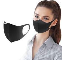 1 pçs rosto máscara de fibra ao ar livre anti-haze leve escudo poeira boca lavável reutilizável anti-poeira máscara unisex ao ar livre