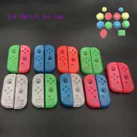 Carcasa transparente carcasa de repuesto funda Y botón A B X Y colorido para el controlador de Nintendo Switch Joy-con