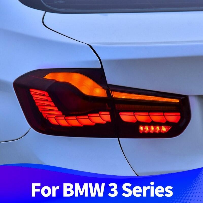 Фонарь в сборе для BMW 3 серия 2013-2018 F30 F80 M3 светодиодный задние фонари M4 GTS дизайн 320 325i светодиодный последовательный сигнал поворота