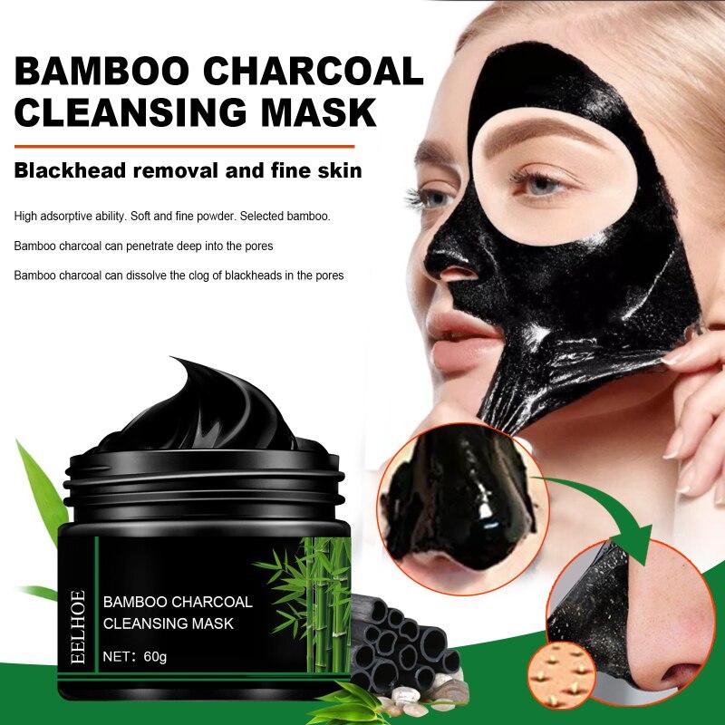 Schwarz Maske Für Gesicht Hautpflege Bambus Holzkohle Gesichts Masken Entfernen Mitesser Dot Akne Peeling Maske Gesichts Nase Reinigung TSLM1