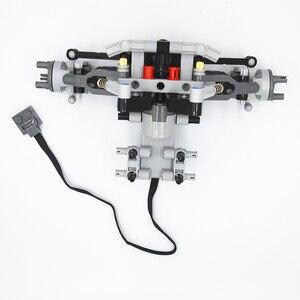 Image 5 - Bloki konstrukcyjne MOC Technic części formuła Off Road z przodu pojazdu System zawieszenia kompatybilne z lego dla dzieci chłopców zabawki