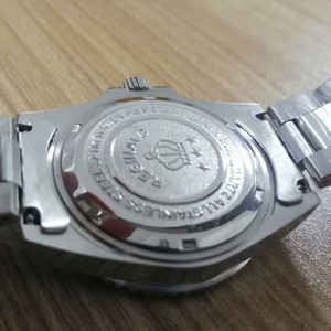 Image 4 - REGINALD Watch Men GMT Rotatable Bezel Japan Miyota 2115 Movt Full Stainless steel Quartz Watches relogio masculino