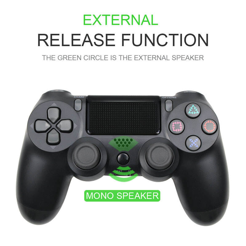 Bluetooth Gamepad and Wireless Game controller with Audio Function for PS4 and PS3 9
