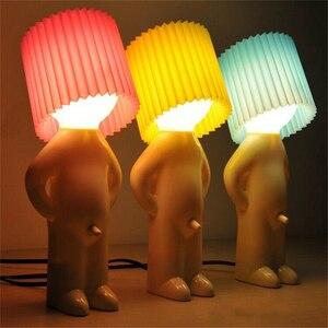 Image 1 - O rapaz naughty sr. p um pouco brilhante homem lâmpada criativa, luzes noturnas, lâmpada para mesa, decoração de casa, casal, presente agradável, festa, lembrancinha