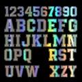 15 см х 15 см интересные цифры от 0 до 9 лет с надписью A-Z комбинации