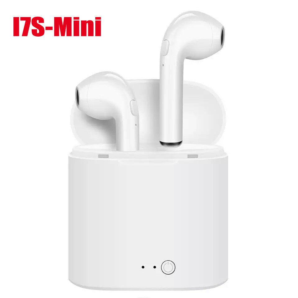 i7s TWS Wireless Headphones Bluetooth Earphone Mini In ear Stereo Earbud Headset With Charging Box For iPhone Xiaomi huawei image