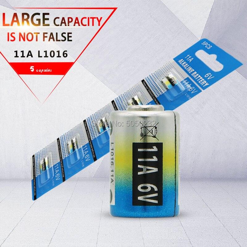 5 個 11A 6 9v アルカリ電池カーリモコンの電池 L1016 forAnti 盗難防止警報システム