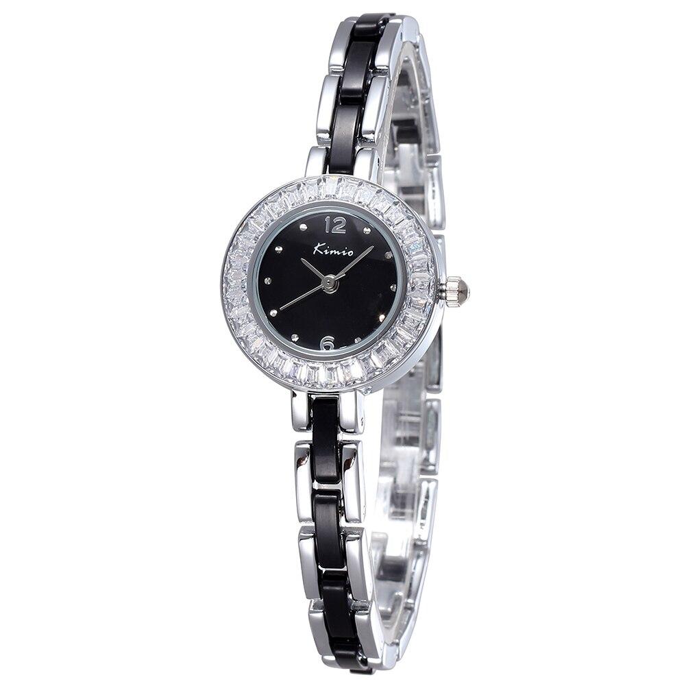 2020 New Brand Luxury Fashion Casual Women Crystal Watch Stainless Steel Bracelet Strap Waterproof Simple Quartz Women  Watch