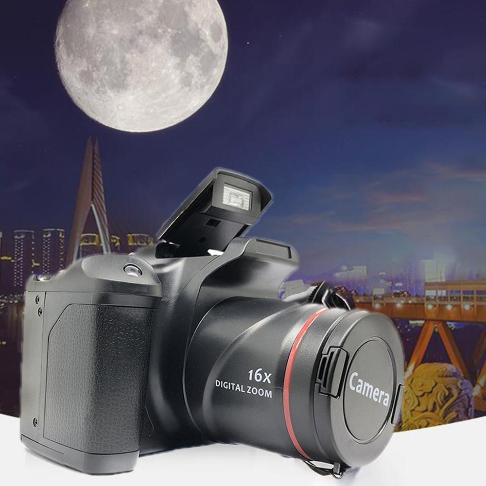 Профессиональная цифровая однообъективная зеркальная камера XJ05 с 4-кратным цифровым зумом, экран 2,8 дюйма, 3 Мп, CMOS, разрешение до 12 МП, HD 720P, Т...