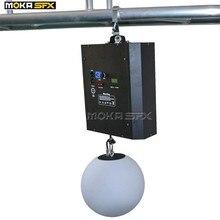 Rgb mudança de cor led elevador bola dmx 512 8 chs led efeito luz para o clube noturno estágio profissional decoração casamento