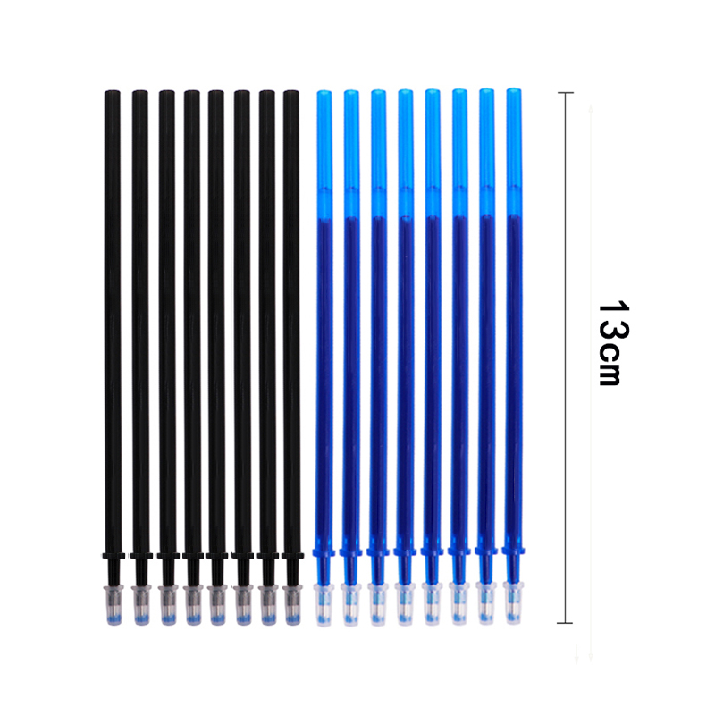 20 Pcs lot Magic Erasable Pen Refills Rod 0 5mm Office Gel Pen Washable Handle Blue