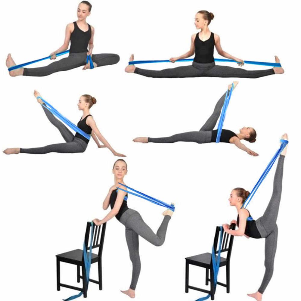 Dziecko odporność na joga opaski gumowe kryty sprzęt do ćwiczeń na świeżym powietrzu Pilates trening sportowy trening Opaski elastyczne Fitness Stretch