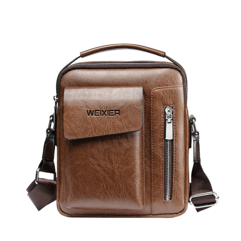 New 2019 Men Vintage Briefcase Men's Shoulder Bag Fashion Trend Messenger Bag Casual Youth Bag Outdoor Sports Men's Bag