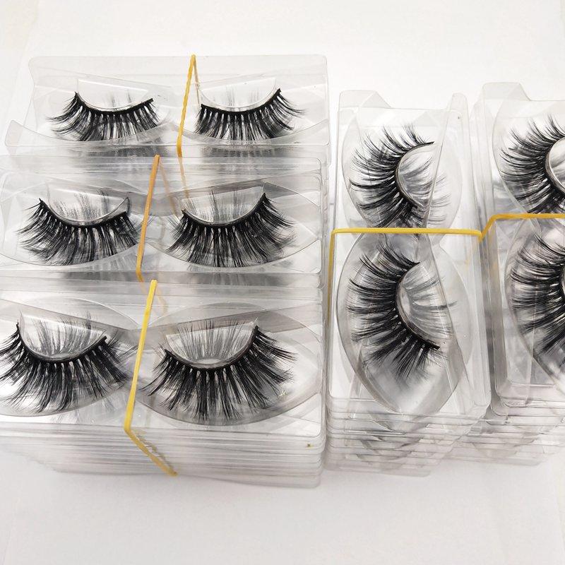 Buzzme Wholesale 30 Pairs free shipping 29 Styles Eyelashes natural 3D false eyelashes fake lashes long makeup extension