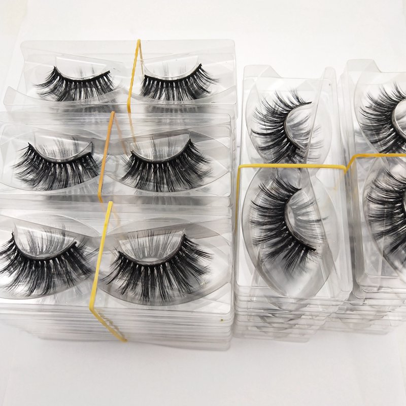 Buzzme Wholesale <font><b>30</b></font> <font><b>Pairs</b></font> free shipping 29 Styles <font><b>Eyelashes</b></font> natural 3D false <font><b>eyelashes</b></font> fake lashes long makeup extension image
