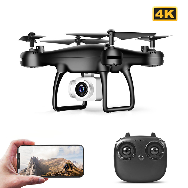 Permalink to Drone 4k Profesional with Camera WIFI FPV RC Quadrocopter Drones Aerial Photography Ultra-Long Life Detachable Camera Dron Toy