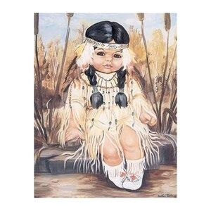 Полный Круглый Алмаз 5D Diy Алмазная картина маленькая девочка вышивка крестиком Стразы алмазная живопись