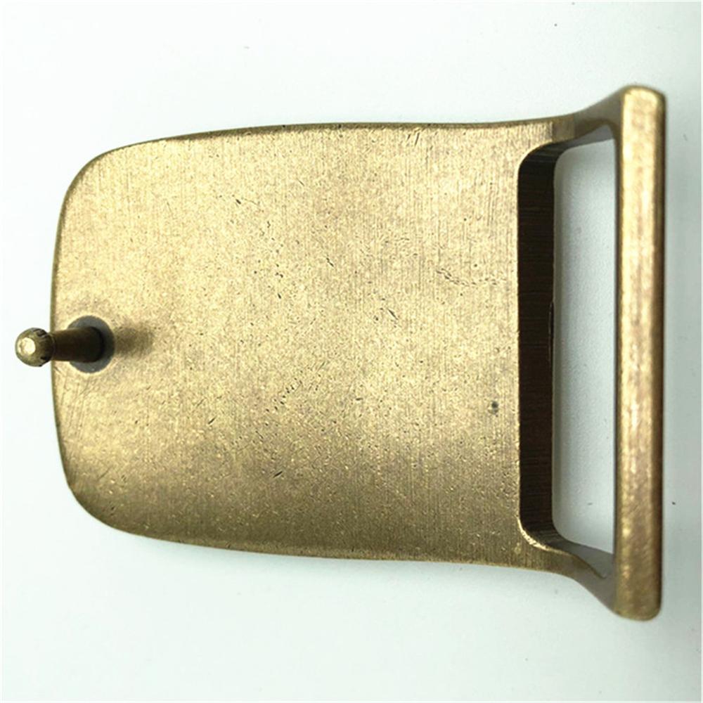 Indians Head Pure Copper Brass Belt Buckle Western Cowboy Shiny Vintage Antique