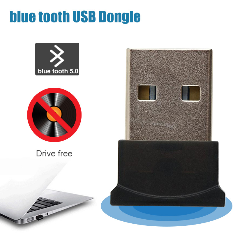 For Bluetooth Usb Adapter Dongle 5.0 Computer Pc Headphones Speaker Car Fone Audio Receiver Transmiter Tv Adaptador 3.5mm Mouse