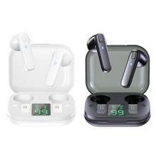 DODOCASE R20 سماعات لاسلكية سماعات مع هيئة التصنيع العسكري سماعات رأس بلوتوث لاسلكية تعمل باللمس التحكم الرياضة سماعات مقاومة للماء
