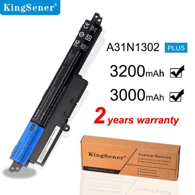 """KingSener Korea Cell A31N1302 Battery For ASUS VivoBook X200CA X200MA X200M X200LA F200CA X200CA R200CA 11.6"""" A31LMH2 A31LM9H"""
