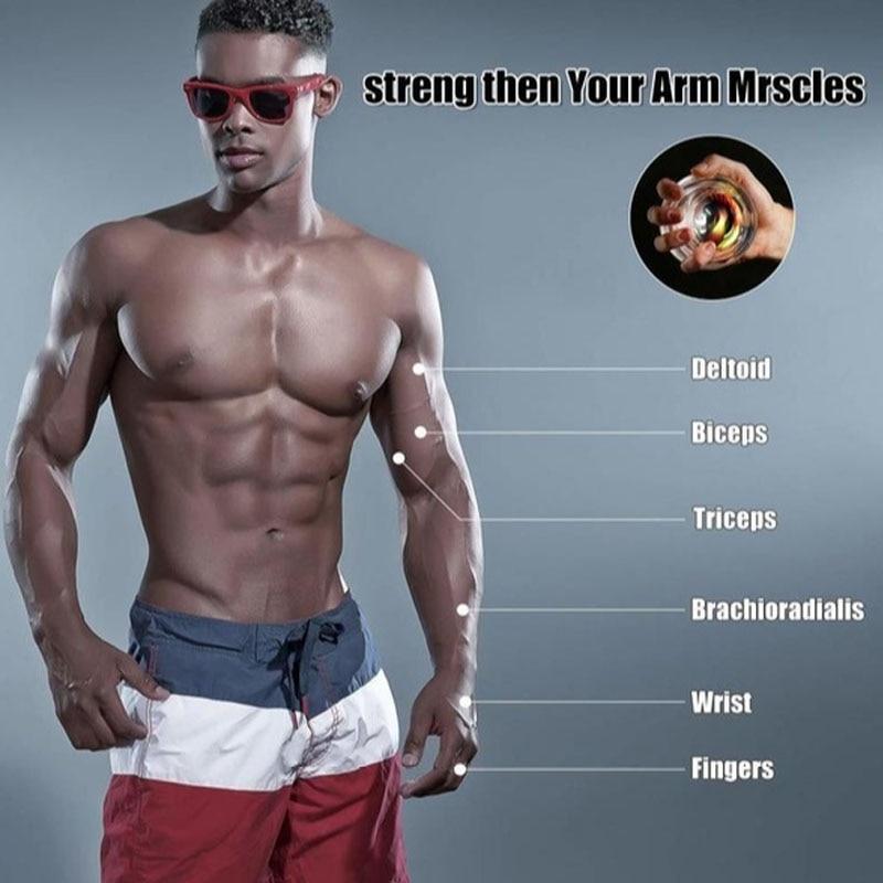 Wrist Ball Trainer Gyroscope Strengthener Power Ball Arm Exerciser Powerball Gym Auto Fitness Forearm Trainer Wrist Ball Aliexpress