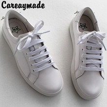 Careaymade-Genuine Leather Shoes,Academy Wind Thick Bottom, Round Head Flat Bottom Small White Top  Womens Shoes
