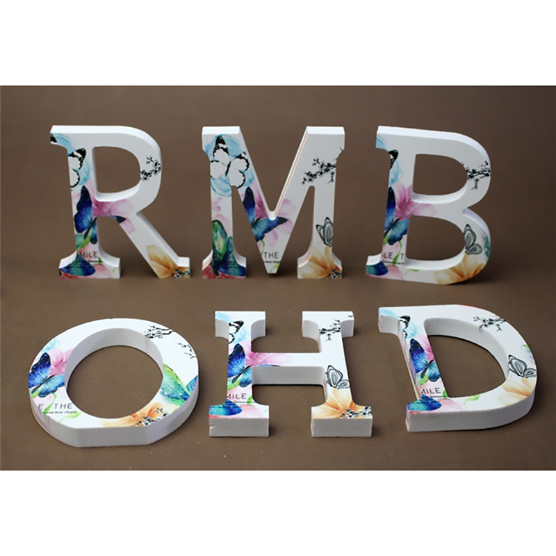 3D Letters Wall Stickers Home Decor DIY Acrylic Mirror English Letters Decoration Special Creative Personality Ornaments 12