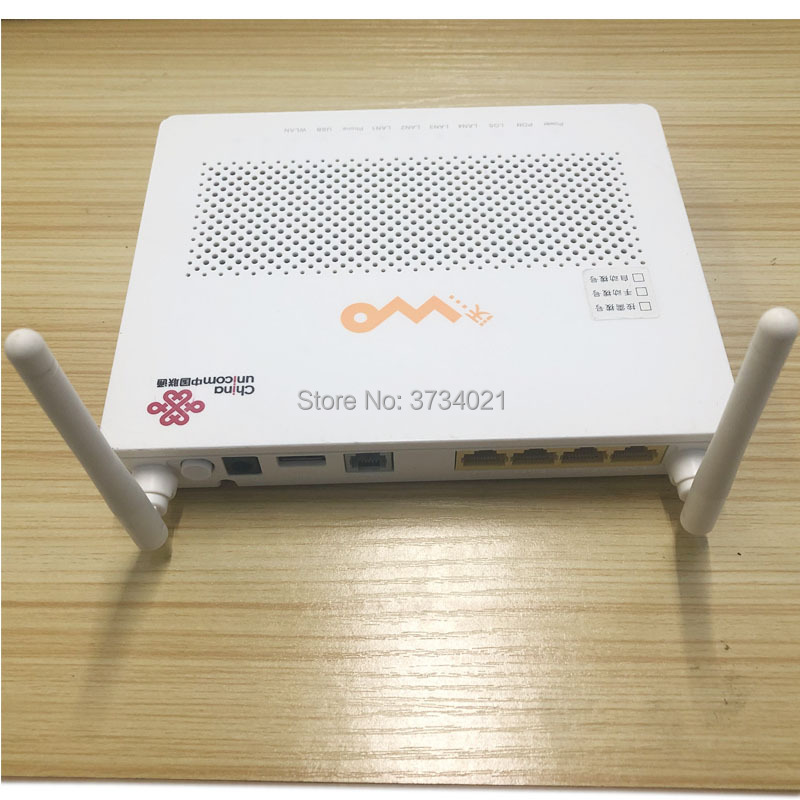 Secondhand 99% New Huawei HG8347R EPON Optical Network Unit ONU ONT With Port 1GE+3FE+1TEL+USB+WIFI, HW HG8347R HGU Modo Router