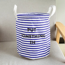 Large Folding Laundry Basket With Lid Toy Storage Baskets Bin For Kids Dog Toys Clothes Organizer Cute Printed Laundry Bucket
