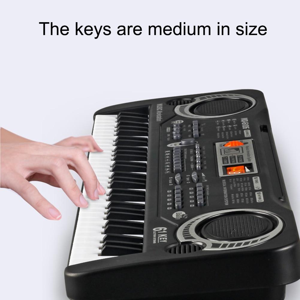 Brinquedo de treinamento música 61 teclas piano