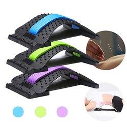 Waist Massager Stretcher Equipment Spine Pain Relief Massageador Magic Back Support Relaxation Muscle Posture Corrector Tools