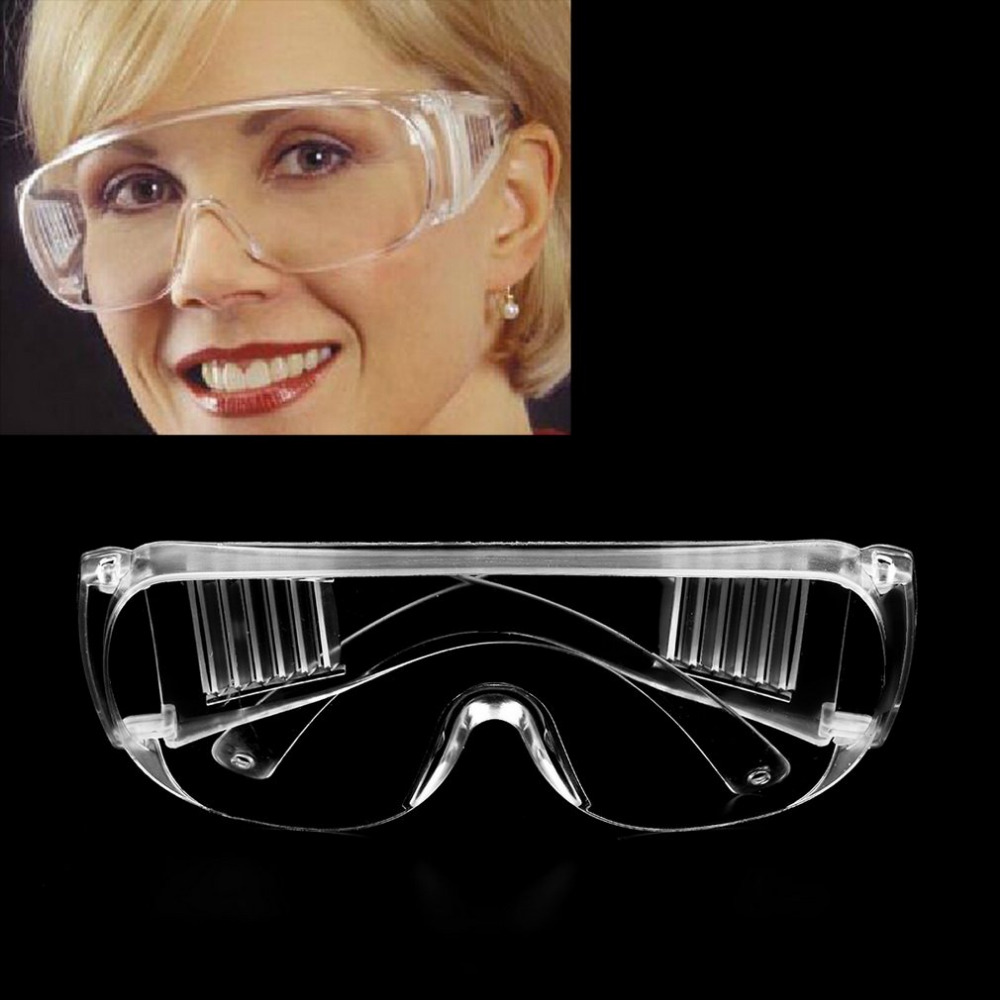 Clear Safety Goggles Workplace Eye Protection Wear Labour Working Protective Glasses Wind Dust Anti-fog Medical Use Glasses