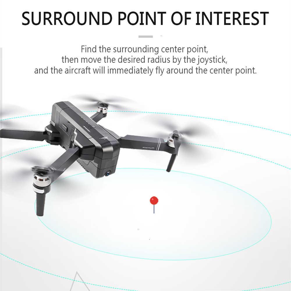 SJRC F11 PRO GPS Drone con 2K HD cámara sin escobillas Quadcopter 1600m de distancia de Control volar 26 min del SG906 B4W Dron regalo
