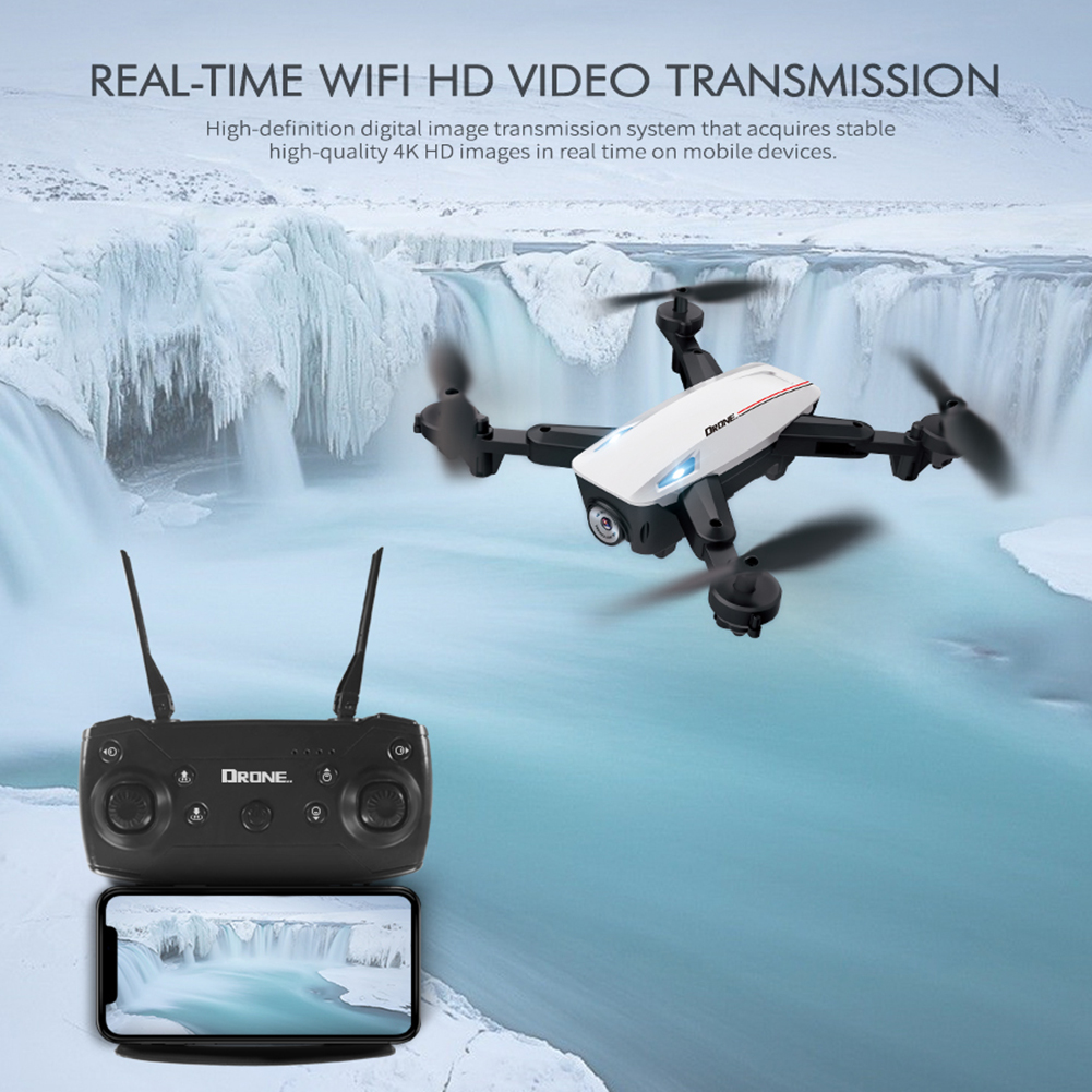 cheapest Mini Rc Drone D58 RC 4K 1080P HD Dual Camera WiFi FPV Air Pressure Altitude Hold Foldable Quadcopter Gps Dron For Boy Toys