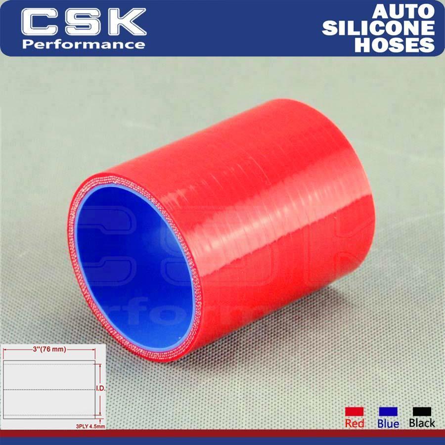 75mm de longitud azul Boost products silicona conectores 57mm