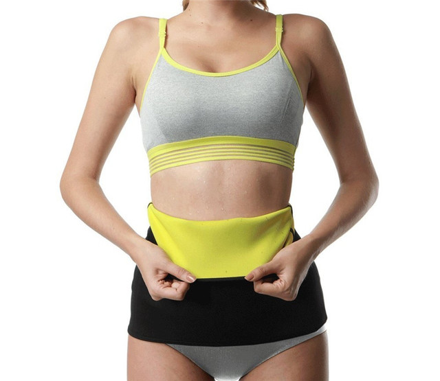 Women Waist Trainer Belt Slimming Sweat Body Shaper Girdle Neoprene Waist Cincher Modeling corset Strap for Fat Burning 2