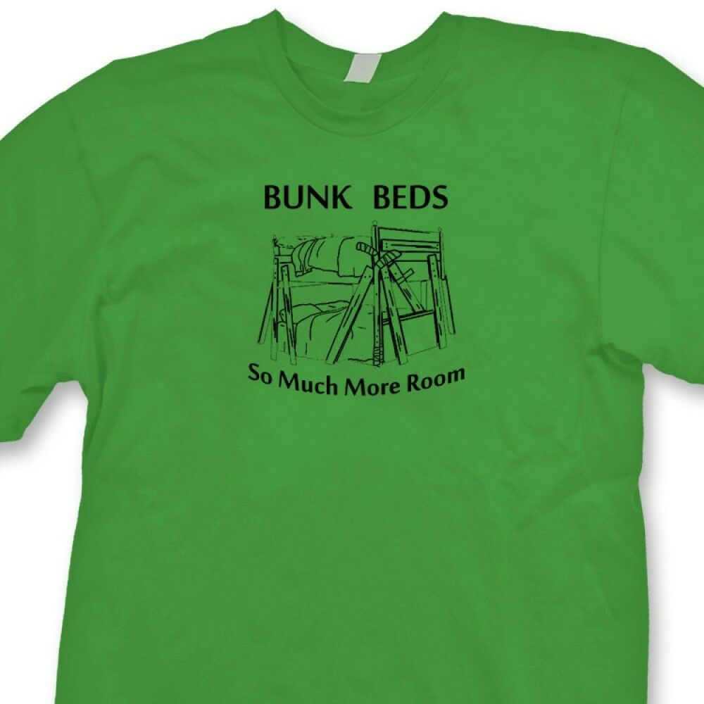 BUNK BEDS Funny movie Classic T shirt Step Brothers Will Ferrell Tee Shirt image