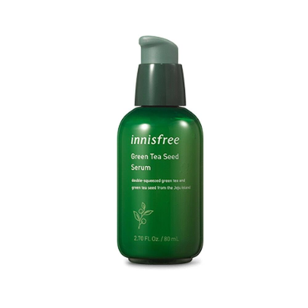 Korea Cosmetic Green Tea Seed Serum 80ml Hydrating Serum Face Skin Care Whitening Essence Treatment Anti Wrinkles Face Cream