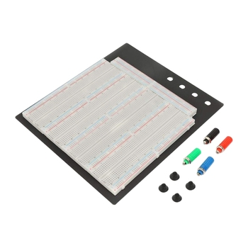 цена на ZY-208 3220 Tie-Points Solderless Breadboard Circuit Testing Board Reusable Four Composite Board