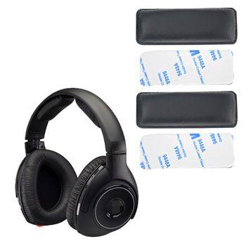 2 uds., almohadillas de pie, almohadillas de pie, Protector para auriculares inalámbricos Sennheiser HDR160 HDR170 RS160 RS170 RS180