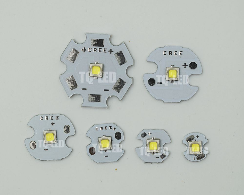 <font><b>CREE</b></font> XPG2 XP-G2 <font><b>5W</b></font> High Power <font><b>Led</b></font> with 8mm 10mm 12mm 14mm 16mm 20m PCB Board image