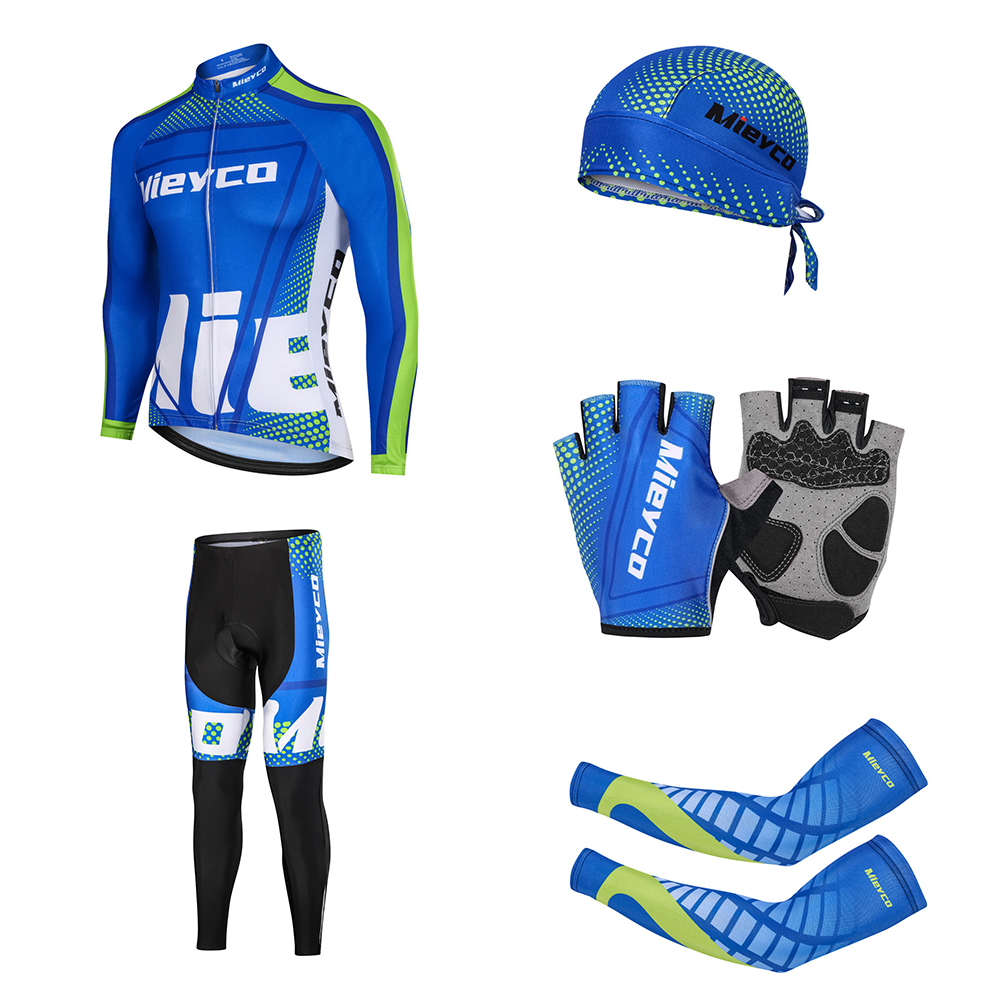 Men 2020 Pro Team Cycling Clothing Kit Racing Road Bike Clothes Wear Mtb Uniform Mieyco Complete Bicycle Outfit Maillot Skinsuit