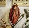 Designer de artesanato de couro diy couro feminino rugby-forma saco de costura padrão de couro artesanato modelo de pvc