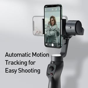 Image 5 - Baseus 3軸ハンドヘルドジンbluetooth selfieスティックカメラビデオスタビライザーiphoneアクションカメラ