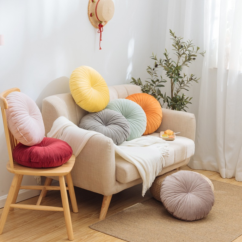 Round Throw Pillow Seat Chair Cushion
