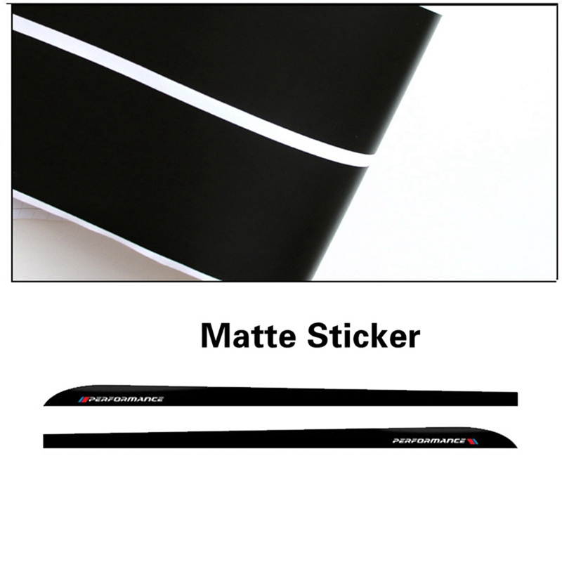 2pcs/Set 205-230CM Auto Side Skirt Sills Car <font><b>Stickers</b></font> For <font><b>BMW</b></font> F30 <font><b>F31</b></font> F32 F33 F15 F16 F10 E60 E61 Carbon Fiber Vinyl Decals image