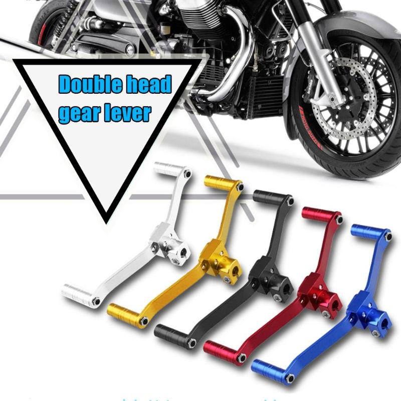 VODOOL Motorcycle-Gear-Shift-Lever Motorbike-Parts Universal CNC Aluminum for Retrofit title=